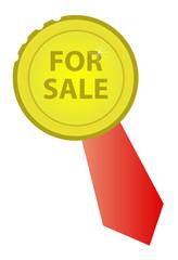 Símbolo de objeto en venta