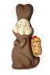 Schokoladenhase mit Marzipan