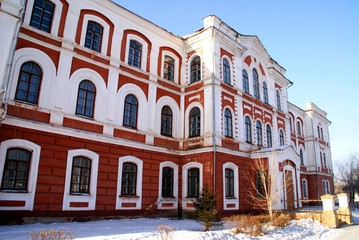Old building of university
