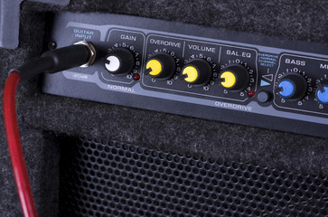 A guitar amplifier