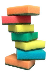 tower from sponges