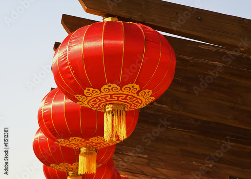 Chinese Lanterns Close up