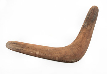 Real Australian Aboriginal Boomerang