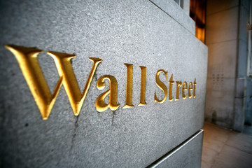 wall street in new york
