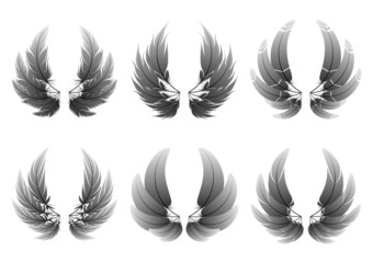 Variation of  feather #2