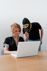 On-line theft