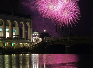 Feuerwerk auf der Binnenalster VIII