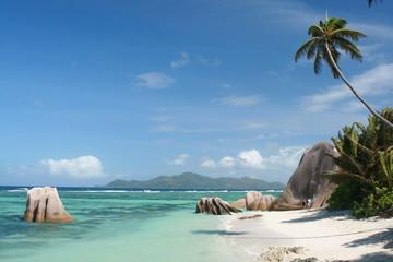 Anse Source D'Argent Beach in Seychelles