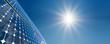 Leinwandbild Motiv Sonnenenergie_3