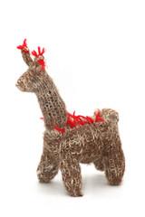 Llama de lana del Norte Argentino. Souvenir