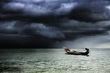 Fototapety Stormy sea (Koh Tao, Thailand)