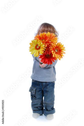 Je t 39 offre des fleurs maman photo libre de droits sur for Offre des fleurs