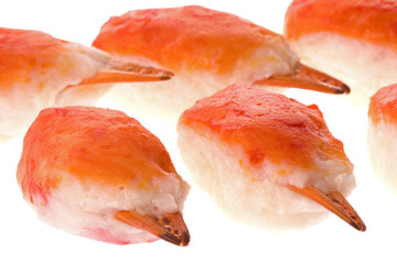 Artificial Crab Claws Isolated