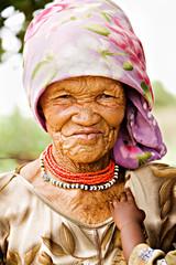 Basarwa woman