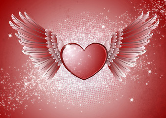 heart and wing