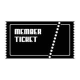 ticket member poster