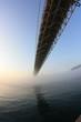 濃霧の関門海峡
