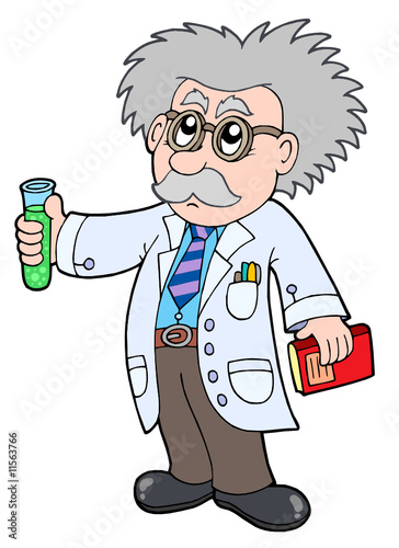 Quot cartoon scientist stockfotos und lizenzfreie vektoren