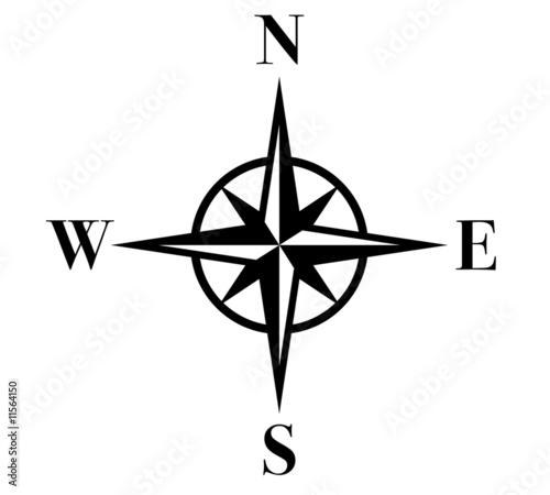 Fototapeta compass