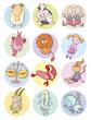 cute zodiac signs