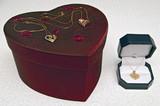 Valentine box and jewelery poster