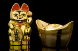 Gold Ingot and Lucky Cat (China) poster
