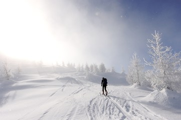 Idyllische Skitour