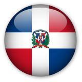 Fototapety Dominican Republic Flag button