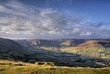Edale Valley Peak District from Mam Tor