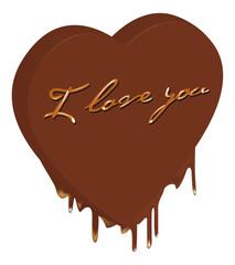 cuore cioccolato love