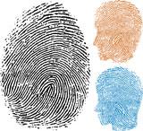 identity fingerprint poster
