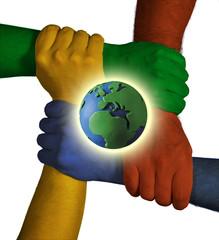 mani e mondo