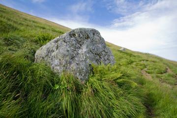 Rocher dans le Cantal