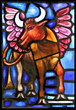 St. Luke's Winged Oxen Evangilical Symbol