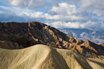 Death Valley Peaks in Early Morning