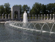 Pond at world war II memorial