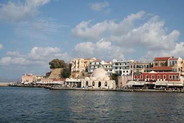 Port vénitien de la Canée (Hania en Crète)