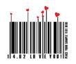 Valentines bar code