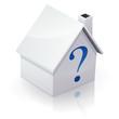 Question immobilière (reflet)