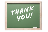 Quote Series Chalkboard - Thank You poster