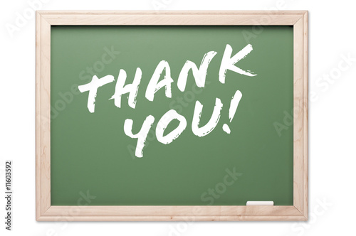 Quote Series Chalkboard - Thank You