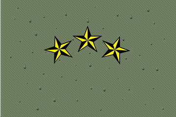 Star and drops