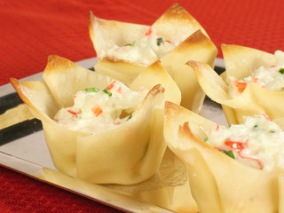 Crab Rangoon Platter