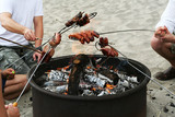 Barbeque on the beach - Fine Art prints