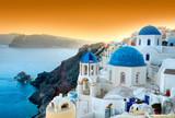 Fototapety Santorini - Oia