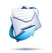 Concept courrier électronique