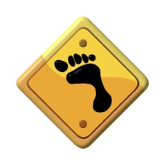 Foot sign