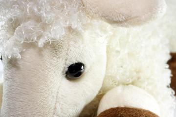 white toy lamb