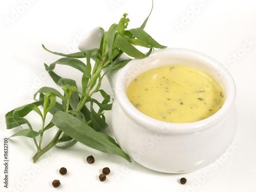 Leinwandbild Motiv Sauce Bearnaise