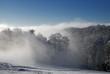 Fototapeten,winterlandschaft,nebel,dezember,berg